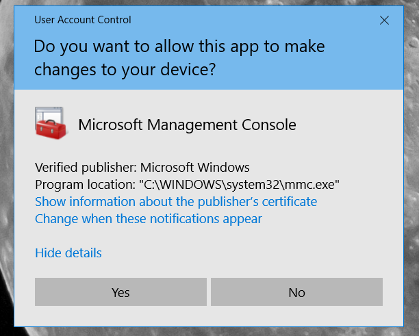 A Windows UAC Bypass using Device Manager
